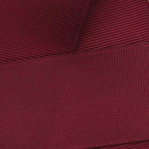 Maroon Grosgrain Ribbon HBC 789