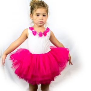 Little Girls Tutu 10-Layer Short Ballet (6 mo. - 3T)