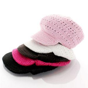 Clearance Newsboy Crochet Hat - Child