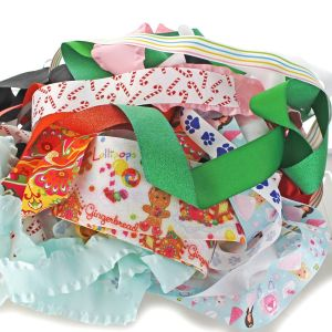 Printed and Specialty Ribbon Grab Bag
