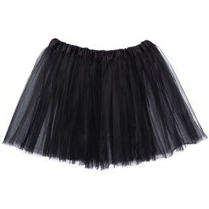 Teen/Adult Tutu 3-Layer Ballerina (10yr - women) Black