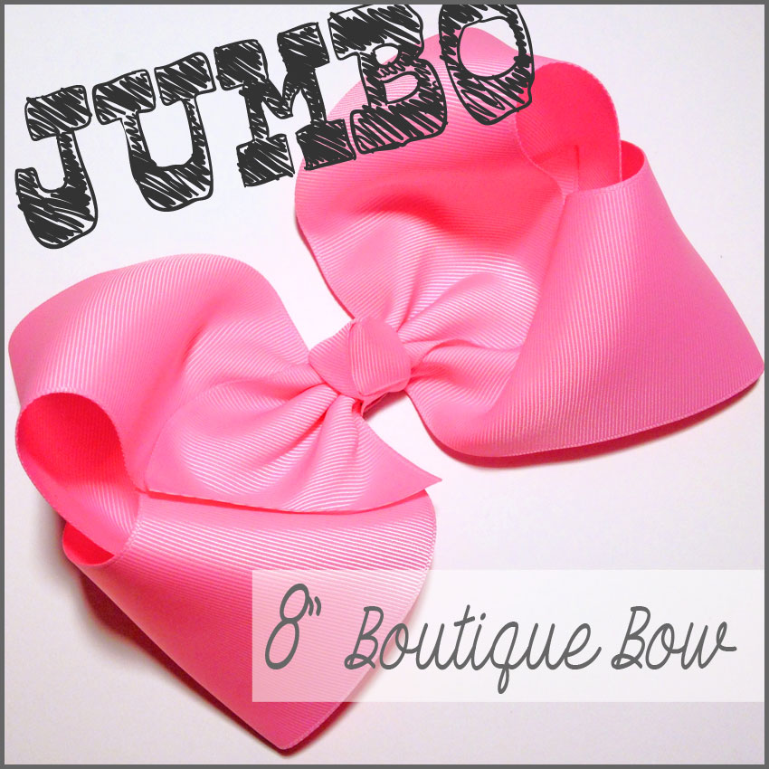 Jumbo Boutique Hair-Bow