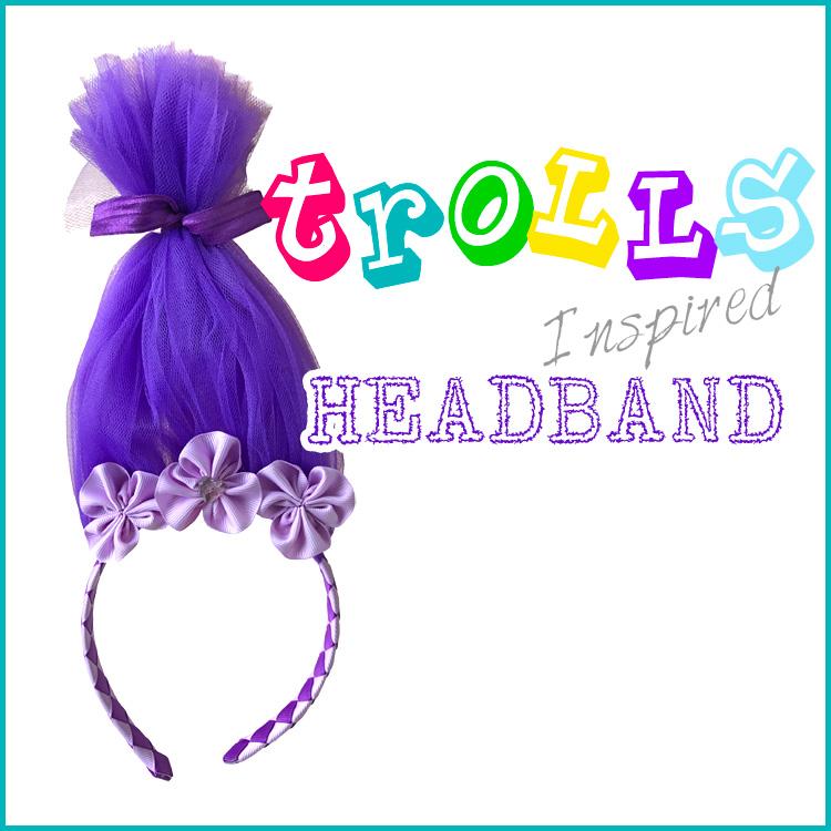 How to Make a Trolls Headband