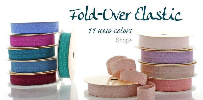 New Fold-Over Elastic