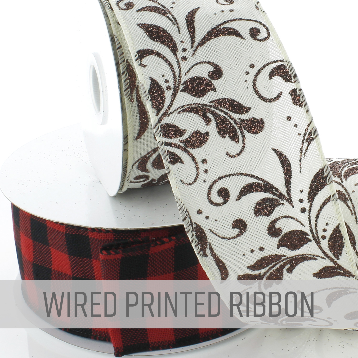 Wired Printed Ribbon