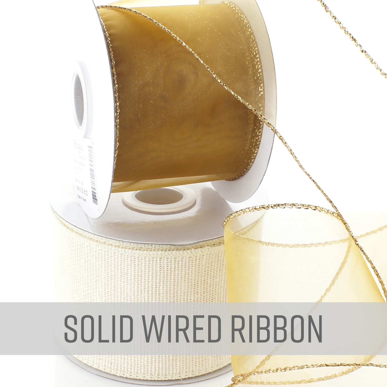 Wired Solid Ribbon