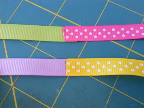 Basic Woven Headband Instructions - Step 1