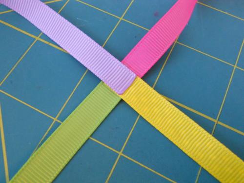 Basic Woven Headband Instructions - Step 2