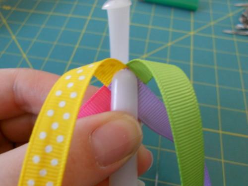 Basic Woven Headband Instructions - Step 3