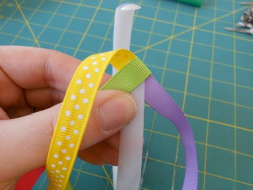 Basic Woven Headband Instructions - Step 4
