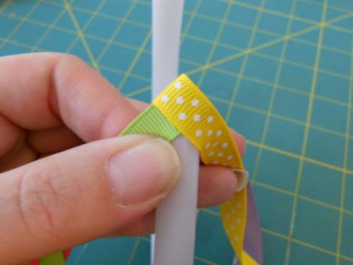 Basic Woven Headband Instructions - Step 5
