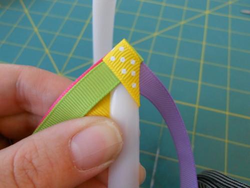 Basic Woven Headband Instructions - Step 6