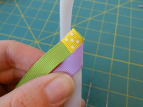 Basic Woven Headband Instructions - Step 7