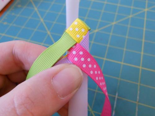 Basic Woven Headband Instructions - Step 8