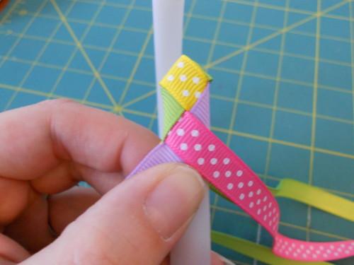 Basic Woven Headband Instructions - Step 9