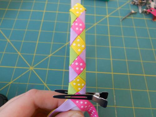 Basic Woven Headband Instructions - Step 11