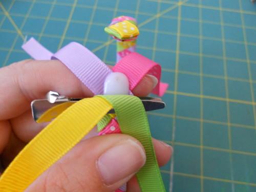 Woven Ribbon Headband Instructions - Step 13