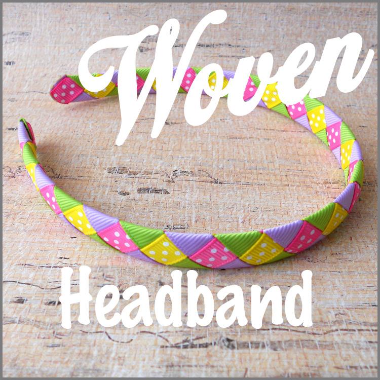 Woven Ribbon Headband Instructions